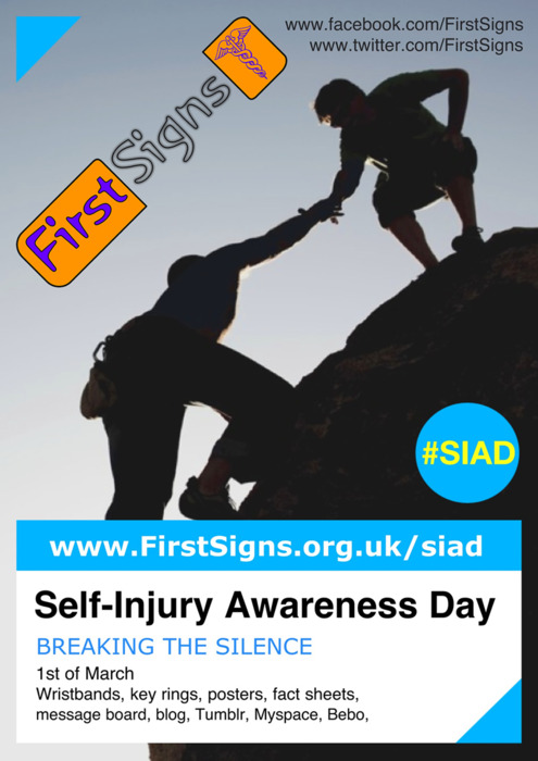 Join us on Facebook or grab a free poster in time for SIAD