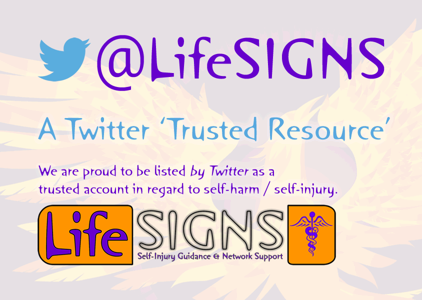 @LifeSIGNS is a Twitter Trusted Resource