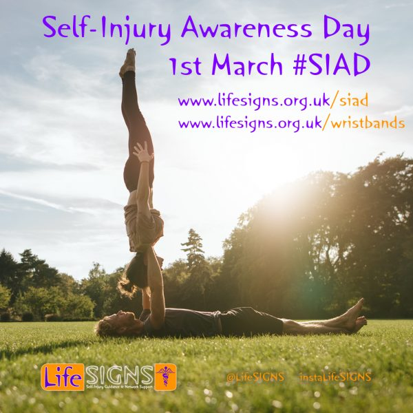 Self-Injury Awareness Day SIAd