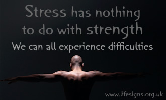Stress has nothing to do with strength