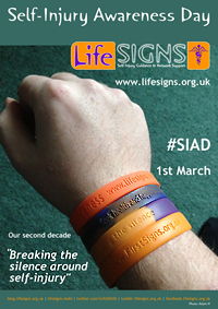 SiAD wristband poster