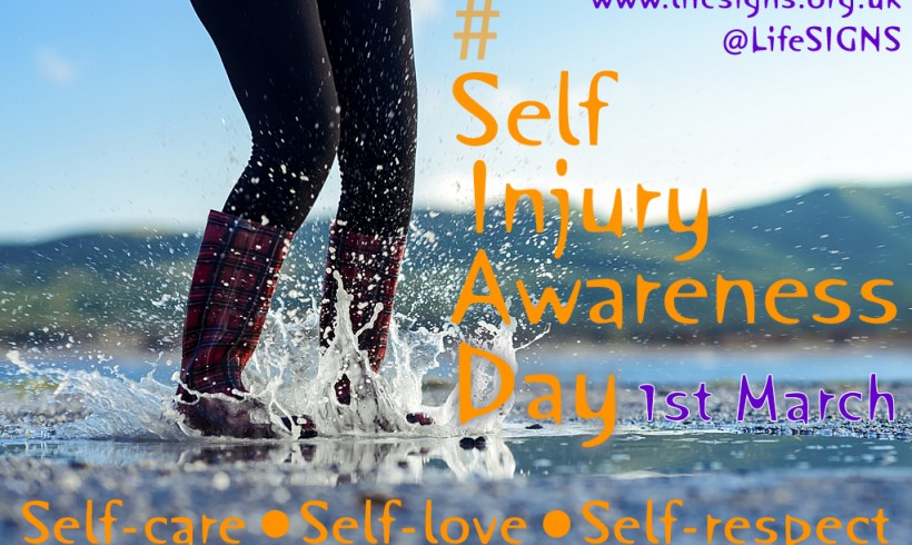 #SIAD – Self-Injury Awareness Day – today