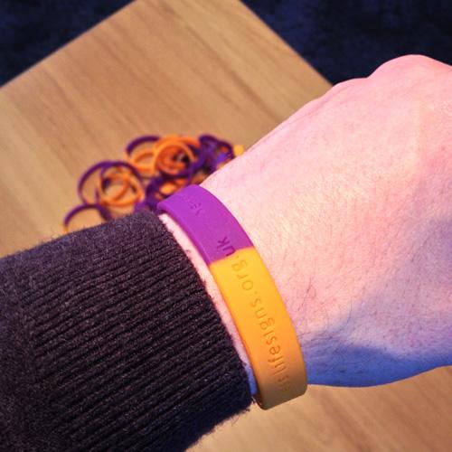 SI wristband