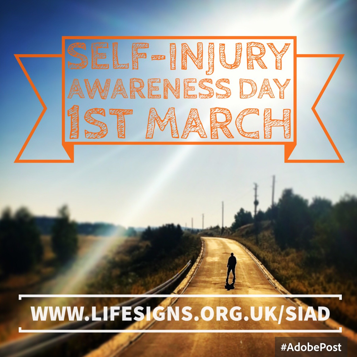 Self-Injury Awareness Day 1st March