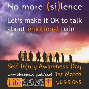 Let's make it OK to talk about emotional pain