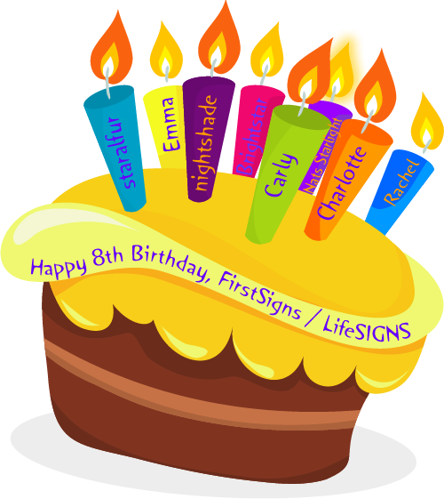 Celebrate our 8th birthday