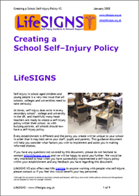 School policy document