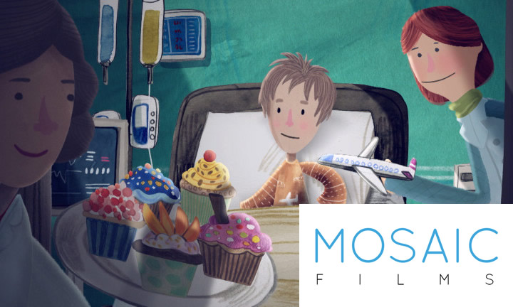 Animated film about self-injury
