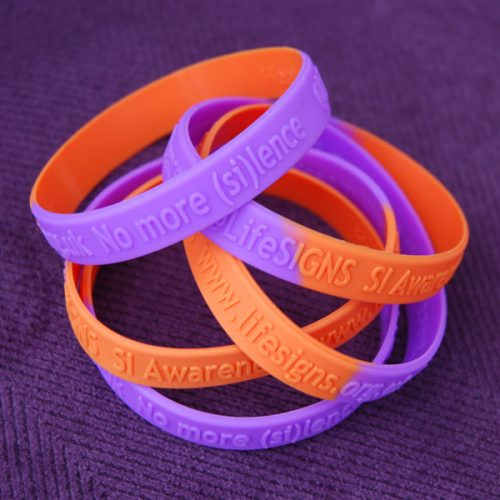 Five wristbands