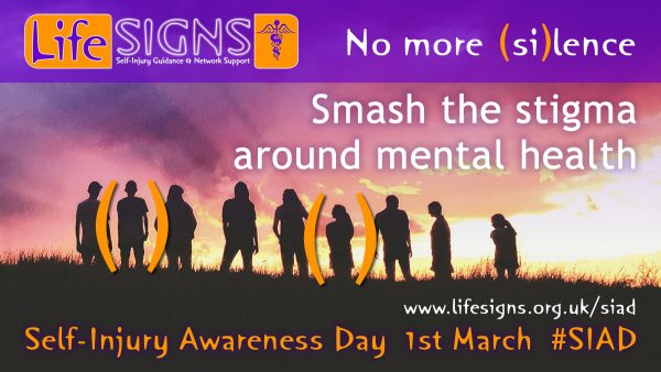 Smash the stigma around mental health